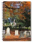 Mt Auburn Cemetery 12 Spiral Notebook