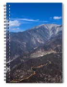 Mt. Baldy Spiral Notebook