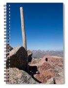 Mt. Bierstadt Summit Spiral Notebook