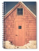 Mt. Cube Sugar Shack Orford New Hampshire Spiral Notebook