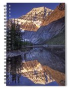 Mt Edith Cavell Reflection Spiral Notebook
