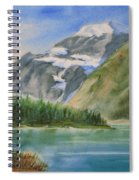 Mt. Edith Cavell W/c Spiral Notebook