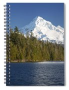 Mt Hood And Lost Lake Spiral Notebook