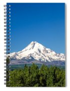 Mt. Hood And Pine Trees Spiral Notebook