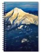Mt. Hood From Above Spiral Notebook