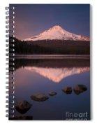 Mt Hood Reflection Spiral Notebook