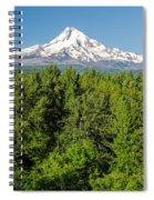 Mt. Hood Vertical Spiral Notebook