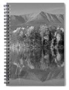 Mt Katahdin Baxter State Park Fall Spiral Notebook