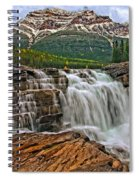 Mt. Kerkeslin  Athabasca Falls Spiral Notebook
