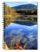 Mt. Monadnock Reflection Spiral Notebook