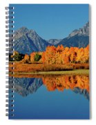 Mt. Moran Reflection Spiral Notebook