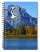 Mt Moran View Spiral Notebook