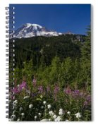 Mt. Rainier Spiral Notebook