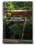 Mt Rainier Gateway Spiral Notebook
