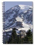 Mt Rainier Portrait Spiral Notebook