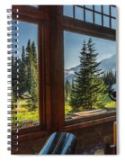 Mt. Rainier Visitor's Center Spiral Notebook