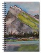 Mt. Rundle Spiral Notebook