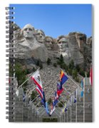 Mt. Rushmore Spiral Notebook
