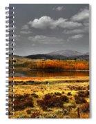Mt. Silverhills In Silver Spiral Notebook