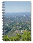 Mt. Soledad - View To The North Spiral Notebook