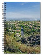 Mt. Soledad - View To The South Spiral Notebook