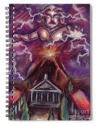 Mt. Vesuvius - Jupiter's Fury Spiral Notebook