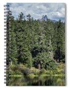 Mt Washington Behind Clear Lake Spiral Notebook