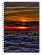 Mt Wilson Sunset 2 Spiral Notebook