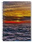 Mt Wilson Sunset Spiral Notebook