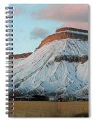 Mt.garfield Winter Spiral Notebook
