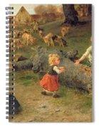 Mud Pies Spiral Notebook