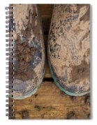 Muddy Boots On Deck Spiral Notebook