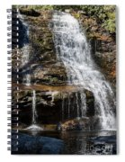 Muddy Creek Falls At Low Water At Swallow Falls State Park In Western Maryland Spiral Notebook