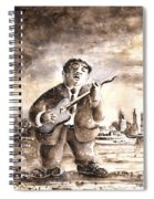 Muddy Waters In Chicago Spiral Notebook