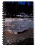 Mudpots Area I V Spiral Notebook