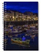 Mugardos Port Galicia Spain Spiral Notebook