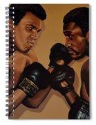 Muhammad Ali And Joe Frazier Spiral Notebook