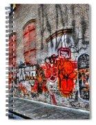 Mulberry Street Graffiti Spiral Notebook