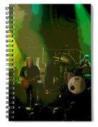 Mule #8 Enhanced Image Spiral Notebook