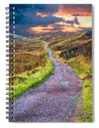 Mull Of Kintyre Spiral Notebook