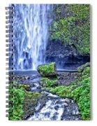 Mulnomah Falls Spiral Notebook