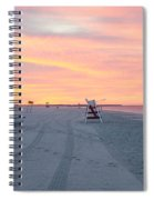 Multi Color Skies - Cape May New Jersey Spiral Notebook