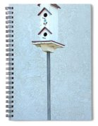 Multi-story Birdhouse Spiral Notebook