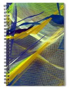 Multicolor Mesh Spiral Notebook