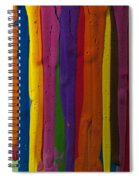 Multicolored Paint Can  Spiral Notebook
