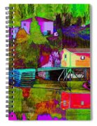 Multicolored Reflections Spiral Notebook