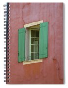 Multicolored Walls, France Spiral Notebook