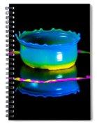 Multicoloured Bowl Spiral Notebook