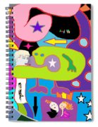 Multifactorialexpoteria Spiral Notebook