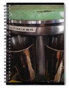 Multimixer Spiral Notebook